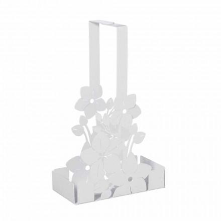 Kosz na kwiaty w kształcie nowoczesnego żelaznego kubka Made in Italy - Marken