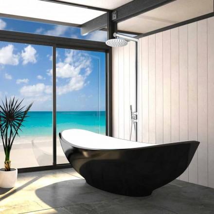 System prysznicowy do zewnątrz, podłączenie ziemne Bossini Nek Floor