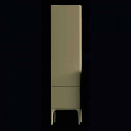 Drewniana szafka łazienkowa Amanda z 2 drzwiami, nowoczesny design, wykonana we Włoszech