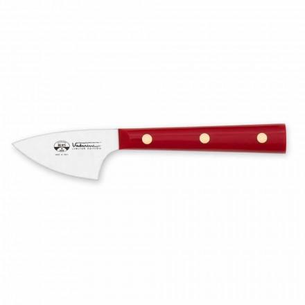 Nóż do twardego sera ze stali nierdzewnej, Berti Exclusive dla Viadurini - sierpień