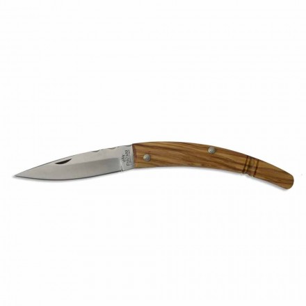 Zakrzywiona rękojeść noża Gobbo Artisan z rogu lub drewna Made in Italy - Gobbo