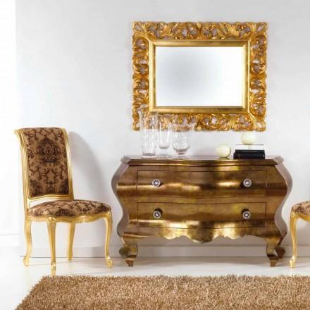 Komoda klasyczna z szufladami z litego drewna, Bellini
