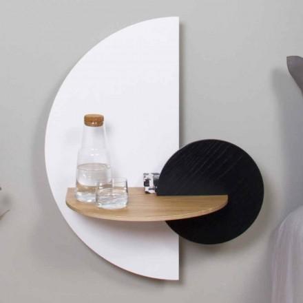 Nowoczesny modularny stolik nocny ze sklejki Elegancki i wszechstronny design - Ramia