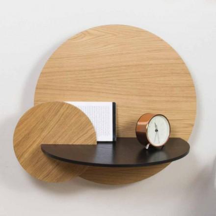 Modułowy stolik nocny Elegancki design ze sklejki z ukrytą komorą - Bigno