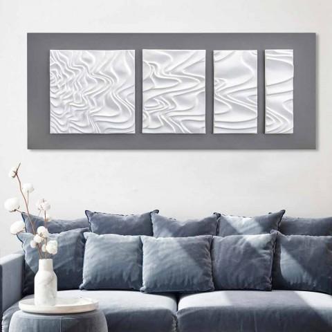 Kompozycja ścienna dekoracji designerskiej w nowoczesnej ceramice abstrakcyjnej - Verno