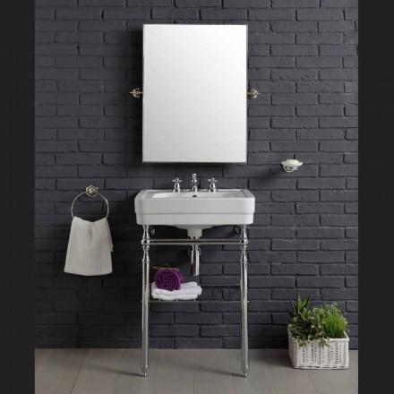 Meble łazienkowe z umywalką na metalowej konstrukcji Beauty