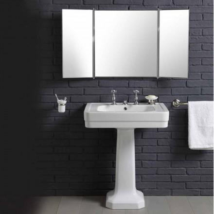 Kompozycja łazienkowa ceramiczna w umywalką stojącą '900 Line