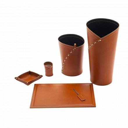 Akcesoria biurowe Made in Italy Stojak na parasole, kosz na papier, podkładka na biurko - Giulio