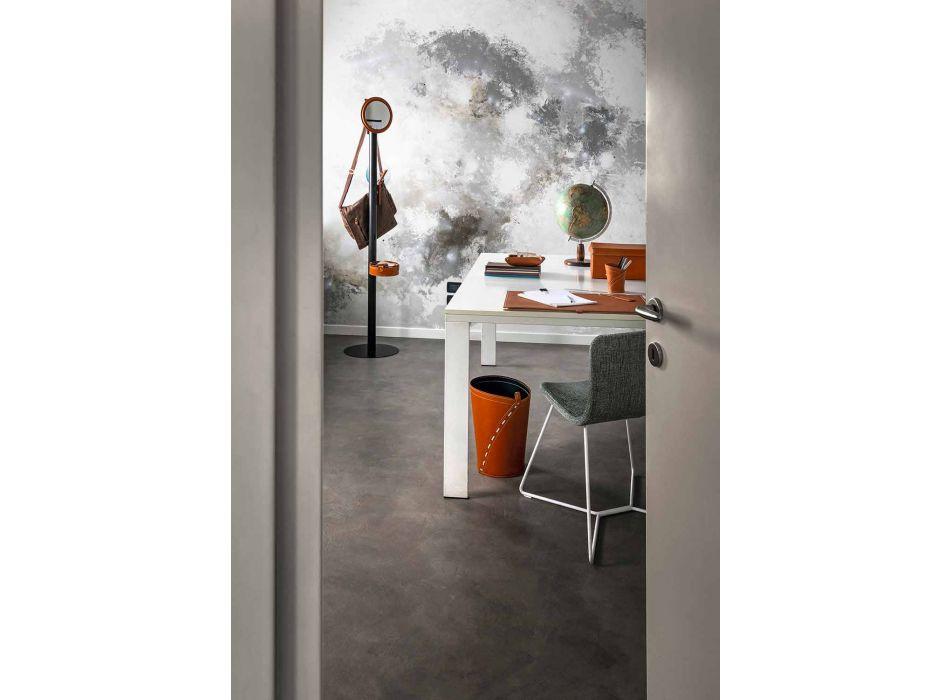 Skład nowoczesnego biura w skórze Wyprodukowano we Włoszech - Andrea