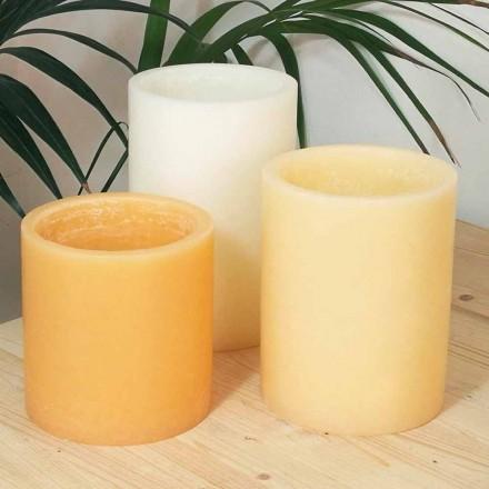 Kompozycja zapachowych lampionów ze świecą Made in Italy 3 sztuki - Terna