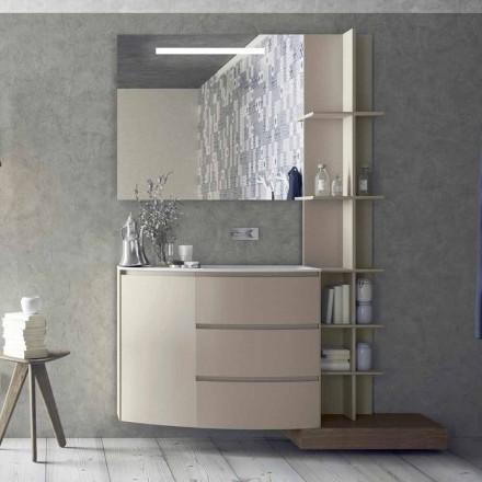 Kompozycja mebli do łazienki o nowoczesnym designie - Callisi13