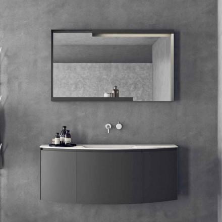 Nowoczesna podwieszana kompozycja mebli łazienkowych - Callisi3