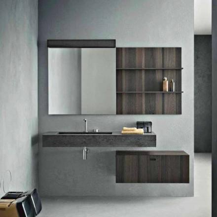 Kompozycja do podwieszanej łazienki i nowoczesny design Made in Italy - Farart9