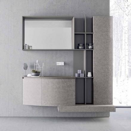 Kompozycja łazienki, nowoczesne włoskie zawieszenie - Callisi10