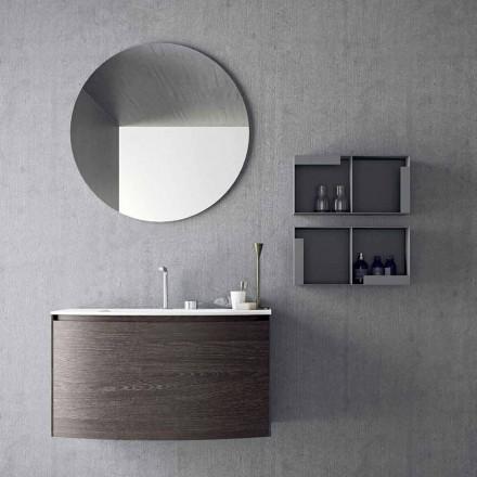 Kompozycja do podwieszanej łazienki o nowoczesnym designie Made in Italy - Callisi11