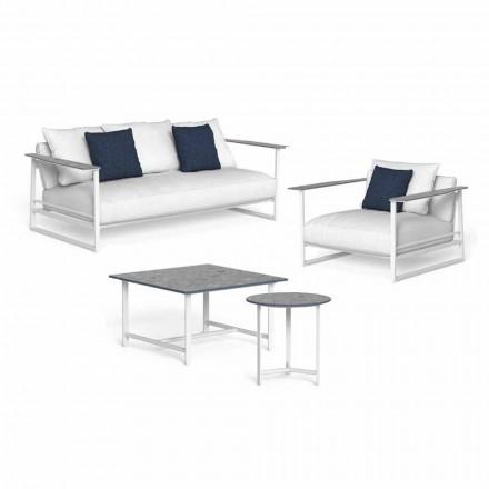Zaprojektuj kompozycję salonu z aluminium i gresu - Riviera by Talenti
