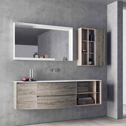 Zawieszona kompozycja projektowa, nowoczesne meble łazienkowe - Callisi5
