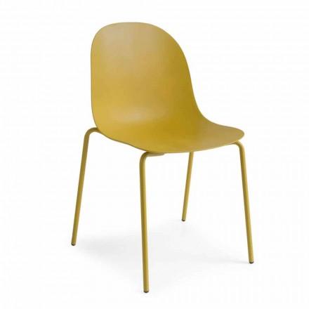 Connubia Calligaris Academy krzesło polipropylenowe design, 2 szt