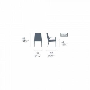 Connubia Akademia Calligaris nowoczesne krzesło z polipropylenu, 2 szt