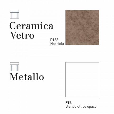 Stół Connubia Calligaris Baron stół szkło ceramiczne, L130 / 190