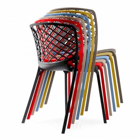 Gamera Connubia Calligaris krzesło kuchnia nowoczesny design, 2 szt