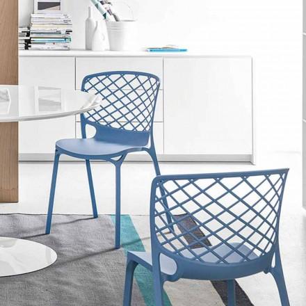 Connubia Calligaris Gamera krzesło kuchenne design, 2 szt