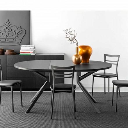 Connubia Calligaris Giove stół rozkładany ceramiczny dł. 120/165 cm