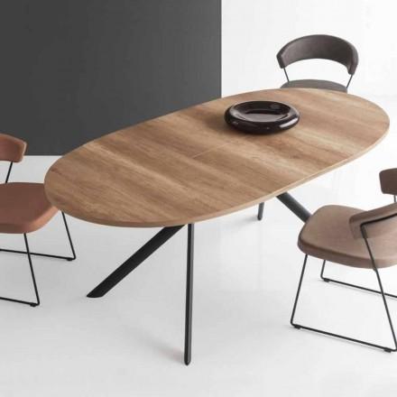Connubia Calligaris Giove stół rozkładany z drewna, dł. 140/190 cm