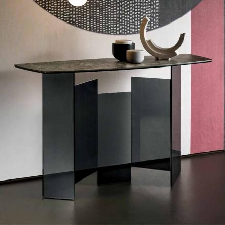Zaprojektuj konsolę do salonu z ceramiki i szkła Made in Italy - Random