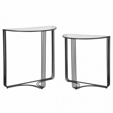 Para nowoczesnych konsol z żelaza i szkła - Ferdie