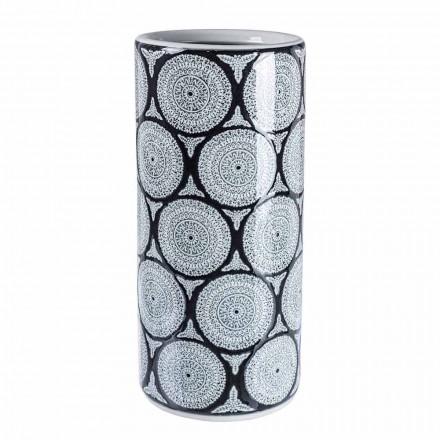 Para nowoczesnych stojaków na parasole z porcelany z dekoracjami Homemotion - Jimbo