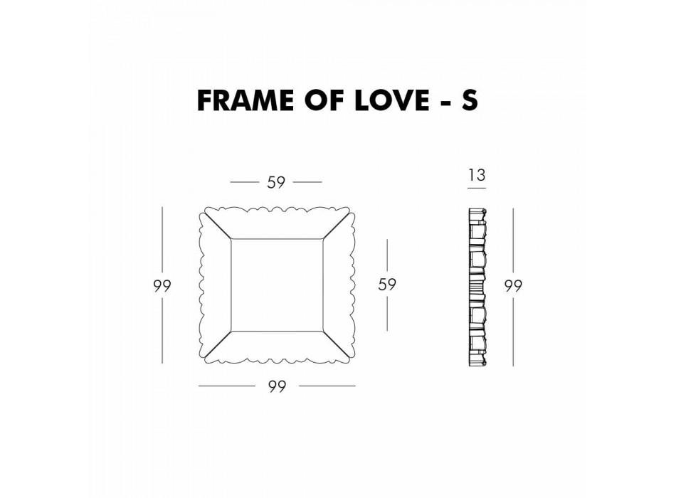 Ozdobna rama ścienna Slide Frame Of Love wykonana we Włoszech