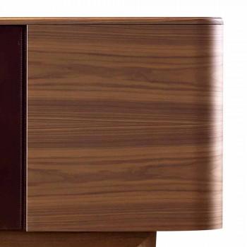 Grilli York 4 kredens wykonany z drewna, wyprodukowany we Włoszech
