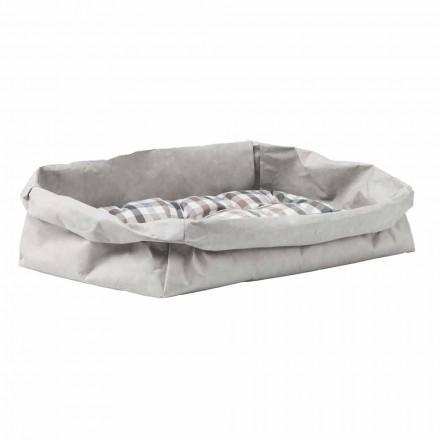 Łóżko dla psa lub designerski kot w włóknie celulozowym Pongo