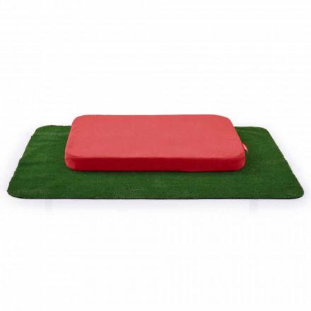 Hodowla psów z poduszką i dywanem z trawy syntetycznej Made in Italy - Game