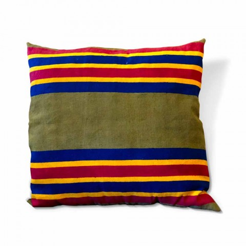 Ręcznie malowana włoska poduszka artystyczna Unique Piece - marki