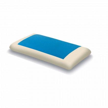 Ergonomiczna pamięć Hydrożelowa poduszka o wysokości 13 cm Made in Italy - Ładna