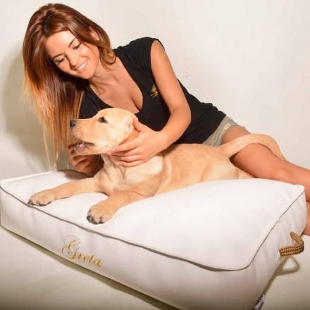 Poduszka dla psa z ekoskóry Doggy Cloud do wnętrz