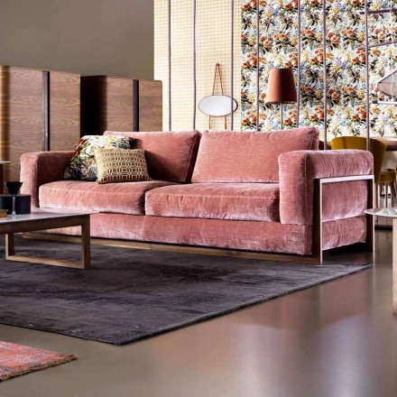 Sofa 3 osobowa design Grilli York, wykonana we Włoszech