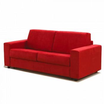Sofa trzyosobowa maxi o nowoczesnym designie ekoskóra / tkanina wyprodukowana we Włoszech Mora