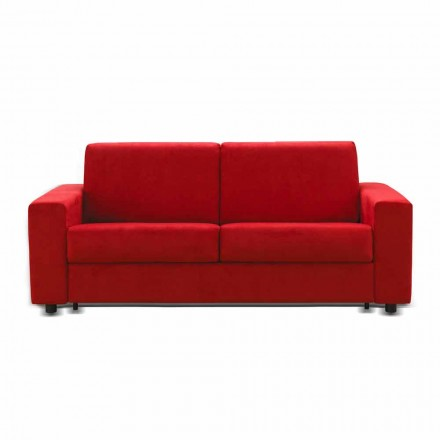 Sofa 2 osobowa design sztuczna skóra/materiał Mora
