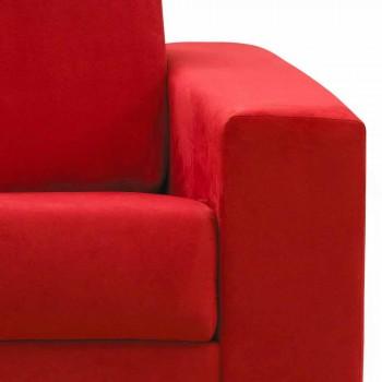 2 osobowa kanapa nowoczesna konstrukcja faux skóra / tkanina wykonana we Włoszech Mora