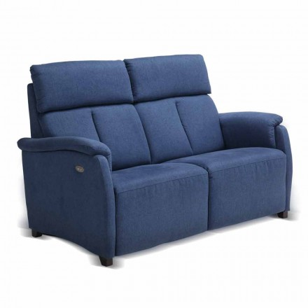 Sofa 2 osobowa design z materiału, skóry lub sztucznej skóry Gelso