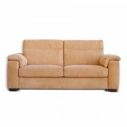 Sofa 2 osobowa z matieriału o stucznej skóry Lilia, made in Italy