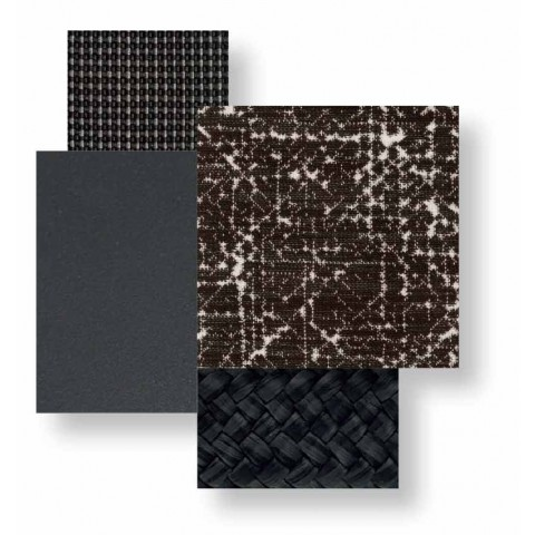 Dwumiejscowa sofa zewnętrzna z aluminium i tkaniny - Cottage Luxury by Talenti