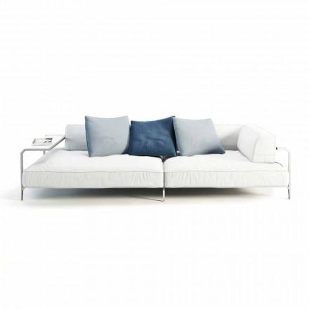 Sofa zewnętrzna tapicerowana nowoczesnym materiałem Made in Italy - Arkansas