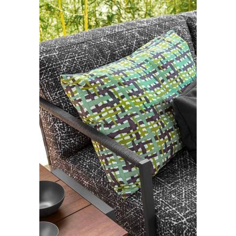 3-osobowa sofa ogrodowa z aluminium i tkaniny - Cottage Luxury by Talenti