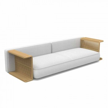 3-osobowa sofa ogrodowa w kolorze białym, beżowym lub szarym - Cliff Decò Talenti