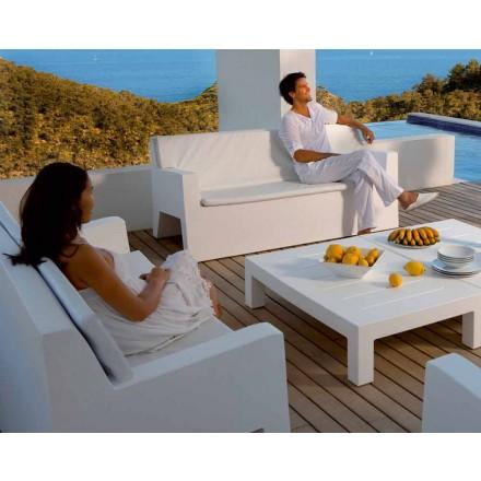 Sofa ogrodowa Jut by Vondom, z żywicy polietylenowej, nowoczesny design