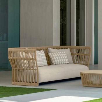 Nowoczesna sofa ogrodowa Cliff Talenti, autorstwa Ludovica i Roberto Palomba